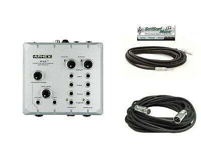 New Aphex IN2 IN 2 High Performance USB Desktop Audio Interface + FREE Cables!