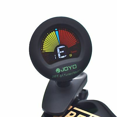 JOYO JMT-01 Clip-on Guitar Tuner and Metronome with Colour Display