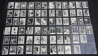 1960's Somportex James Bond 007 Cards Thunderball And Others VG-EXMT Movie