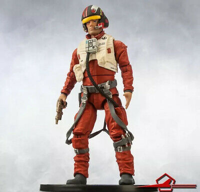 Poe Dameron Elite Series Disney Store Action Figure 6 1/2'' Star Wars Diecast
