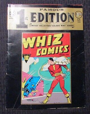 1974 DC TREASURY F-4 FAMOUS 1st Edition WHIZ COMICS #2 Shazam GD+ 2.5