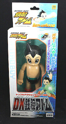 Astro Boy Figure with Triple Action Sensor + booklet - Takara Tezuka 2003 Opened