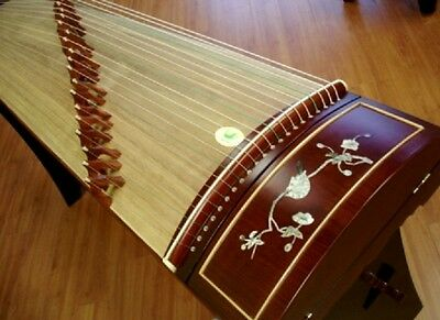 Tianyi Rosewood Guzheng with Mother-of-Pearl Inlay Chinese Musical Instrument