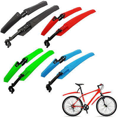 Mountain Bike Cycling Bicycle Bike Front Rear Mud Guards Mudguard Fenders Set