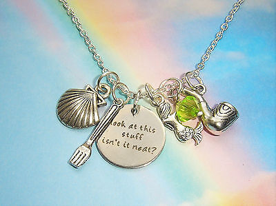 Ariel The Little Mermaid Charms Necklace Look At This Stuff Isn't It Neat?