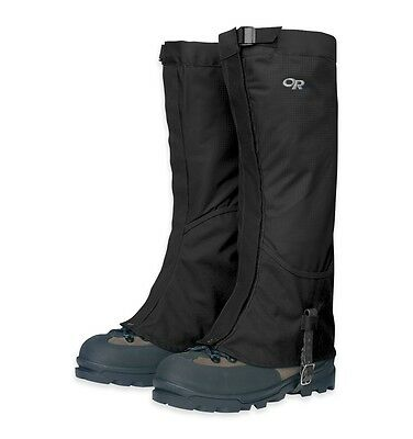 BRAND NEW Outdoor Research OR Mens Verglas Gaiters, Black, XL