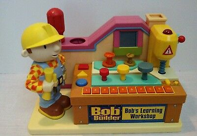 Bob The Builder Learning Workshop Playset with Sounds and Accessorues