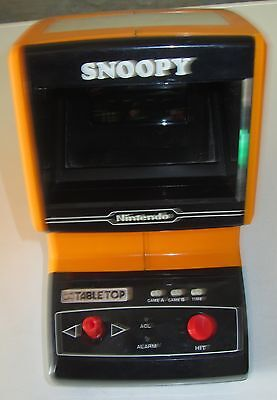 Nintendo Table Top Mini Arcade Game & Watch Snoopy Made in Japan SPESE GRATIS