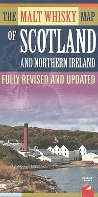 The Malt Whisky Map of Scotland and Northern Ireland - Folded Map 9781849341905