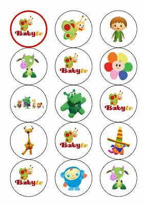 Baby Tv Favourite Characters 12 Edible Cupcake Toppers