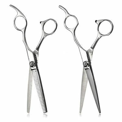 Steel Scissors Hairdresser Stainless Shears Thinning Cutting Professional j