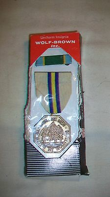 California National Guard Meritorious Service Medal with Ribbon from Wolf-Brown