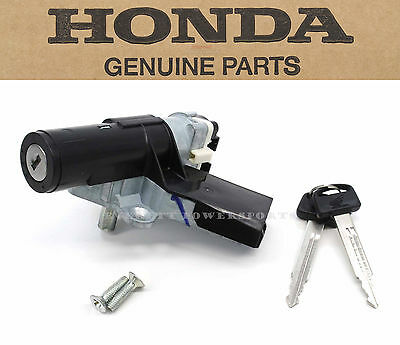 New Genuine Honda Ignition Key Switch 06-09 CHF50 Metropolitan Lock Set #F72