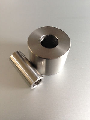 "Stainless Steel Spacers/ collar  - 3/16""(M5)1/4""(M6)5/16""(M8)3/8""(M10)16-20mm od"