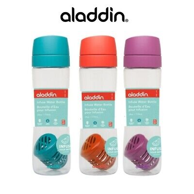 Aladdin Infuse Water Bottle 24oz / 710ml  BPA Free Made with Tritan *Choose your