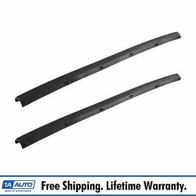 OEM Rear Door Lower Weather Strip Seal Pair for Ford F250 F350 Super Duty New