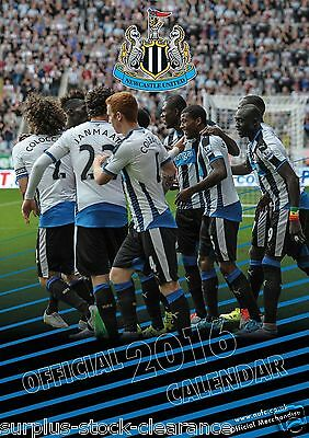 The Official Newcastle United 2016 Yearly Calendar Football Club Clearance Price
