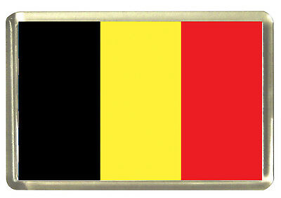 Belgian Flag Fridge Magnet - Flags
