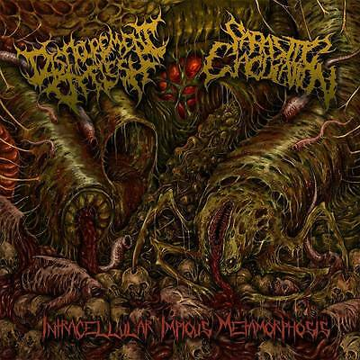 DISFIGUREMENT OF FLESH/PARASITIC EJACULATION - Split EP (yellow) Kraanium Vile