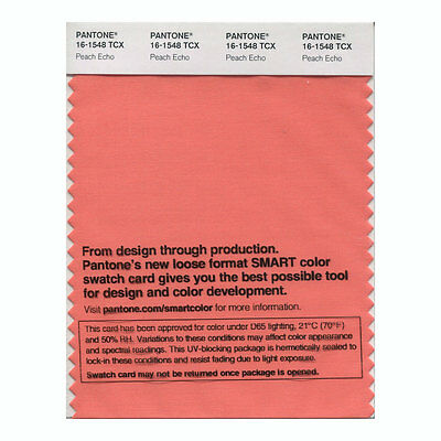 Pantone Smart Swatch 16-1548 Peach Echo