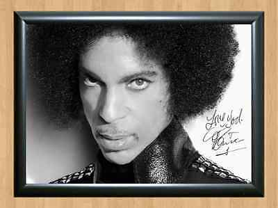 PRINCE Rogers Nelson Signed Autographed A4 Print Photo Poster Lovesexy Parade 5