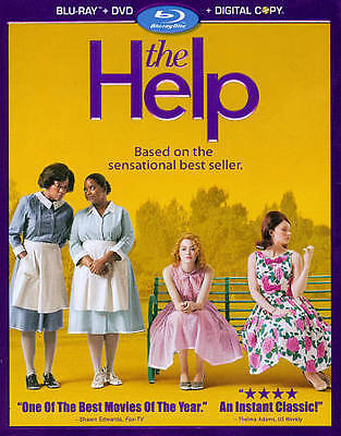 The Help (Blu-ray + DVD + Digital Copy)BRAND NEW, FREE SHIPPING
