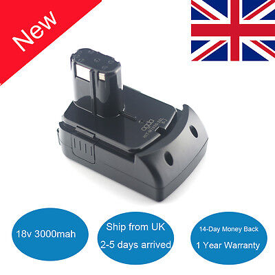 18V 3AH Replacement Power Tool Battery for HITACHI 327731 326241 BCL1815 327730