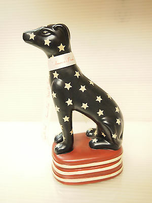Vintage Ceramic Dog Figurine ''America's Pride'' by Toyo made in China