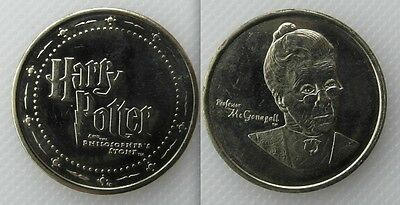 Collectable Harry Potter & The Philosophers Stone Token - Professor McConagall