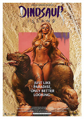 Dinosaur Island (1994) - A1/A2 POSTER **BUY ANY 2 AND GET 1 FREE OFFER**