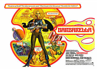 Barbarella (1968) V2 - A1/A2 POSTER **BUY ANY 2 AND GET 1 FREE OFFER**