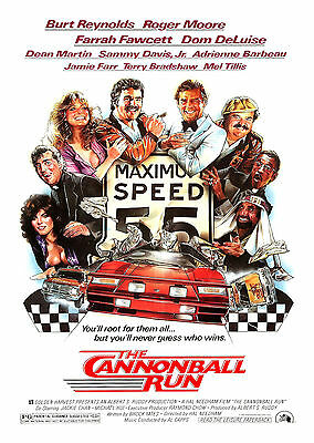 The Cannonball Run (1981) - A1/A2 POSTER **BUY ANY 2 AND GET 1 FREE OFFER**