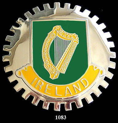 CAR  GRILLE  EMBLEM BADGES USA//IRELAND