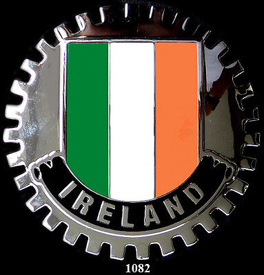 Car Grille Emblem Badges - Ireland (Flag)