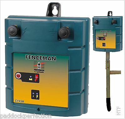Fenceman Cp450 High Powered 12 Volt Electric Fence / Fencing Battery Energiser