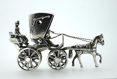 Sterling Silver Miniatures Carriage