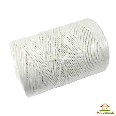 450m White STRONG HEAVY DUTY Polypropene Twine Packing Craft Gardening Spool
