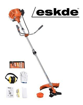eSkde 52cc Petrol 2 in 1 Garden Multi Tool Strimmer Brush Cutter Line Trimmer