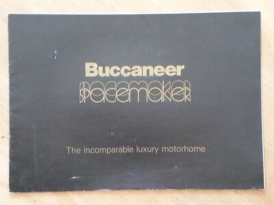 BUCCANEER SPACEMAKER by MOTORHOMES INTERNATIONAL 1976 Brochure - Transit Sherpa