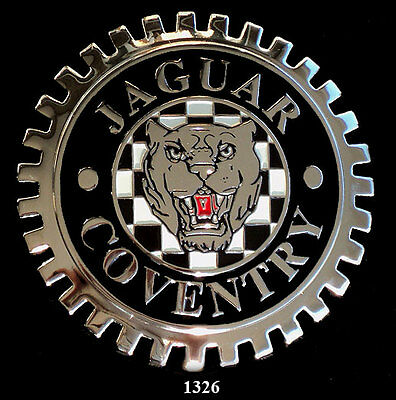Car Grille Emblem Badges - Jaguar(Coventry)