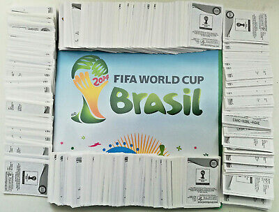 Panini 2014 Fifa World Cup Brazil Stickers Select 10,20,30,40,50,75