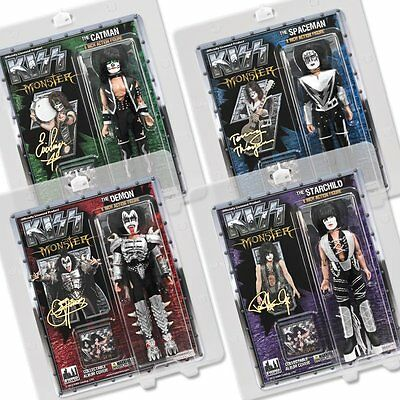 KISS 8 Inch Action Figures Series 4 Monster Complete Set of all 4
