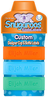 Personalized Daycare Labels for Baby Bottles & Sippy Cups