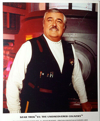 Star Trek Autograph 8x10 Photo Signed James Doohan/Scotty-(LHAU-432)