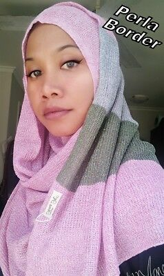 Instant Hijab / Slip On Single Loop Butterfly Curly Shawl / Muslimah / Women