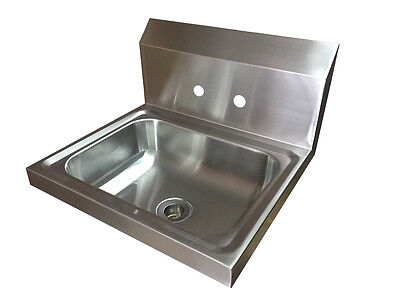 Commercial Stainless Steel Hand Wash Basin