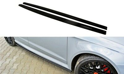 SIDE SKIRTS ADD-ON DIFFUSERS AUDI RS3 8VA SPORTBACK (2015-onwards)