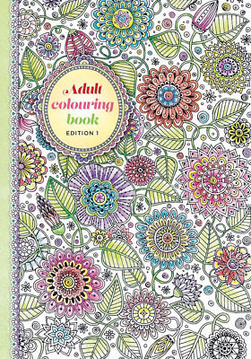 Adult Colouring Book Art Therapy Colour Your Days Edition-1 - 64 Page