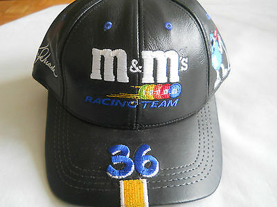 New m&m Racing Team 36 Genuine Leather Hat Cap by Modern Made in USA