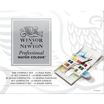 Winsor & Newton Artists Professional Quality Watercolour Compact Set